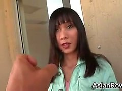 Sexy Asian Mother In An Artists Studio