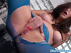 Squirting loving Holly Michaels solo fun
