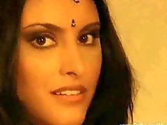 Schönes Bronze Babe Aus Indien