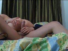 Lindo garoto moreno francês ferrado em POV