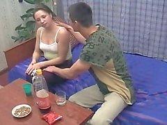 Trunkenheit Geschwister Ficks während sich die Eltern nicht zuhause