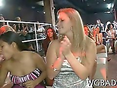 Wild blowjobs with strippers