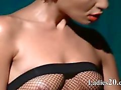 Luxe Babe tease in panty