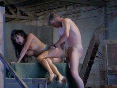 Huge tits Alektra Blue makes a scene