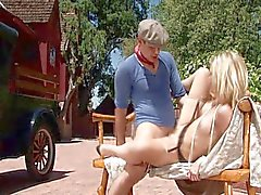 A caring lady blonde Alexis Texas
