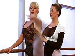 Lesbisch Balletttänzer