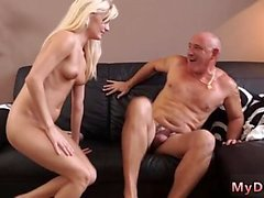 Teen fucks old nick anal first time Horny blond wants to