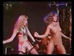 Espectáculo de strip vintage británico