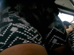 Sexy Latina Thighs Spandex Lycra Shorts by MysteriaCD