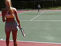Barbi Loses Tennis Bet