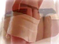 Kimberly Kato Striptease & Masturbation