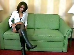 Pvc Boots On Cock