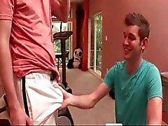 Bello Sweaty Grande Dick allenamento part4