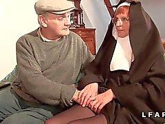 De Vieille ninguno baisee et sodomisee el par Papy et son de Pote