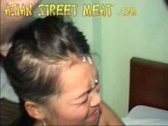 Thailändische Bargirl In der Schlampig Hotel Zimmer 2.