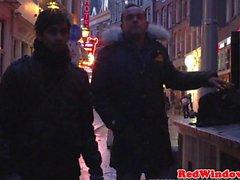 Dutch заниматься проституцией cummed в в Holland
