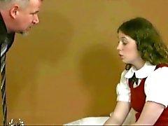 spanked schoolgirl