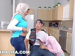 Mia Khalifa - a vida imitando a arte com Julianna Vega e Sean Lawless