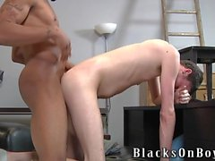 Sean dekan Arbetar hans första Black Cock
