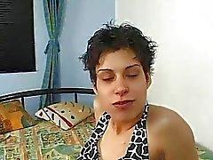 Girlfriend adolescente aficionado hardcore ação com o cabeludo