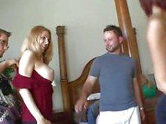 Meninas pregado por seus homens
