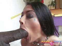 Tattooed Katrina Jade is a Size Queen and Loves BBC