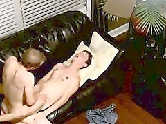Homosexuell Sex Wir schauen von oben her als die Stollen teilen ihre hart über
