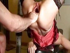 buceta Fisting monstro e o orgasmo esguichavam