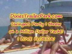Florida'da bir yat swingers Partisi