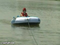 Einer anderen Art von Wassersport vom OQPS