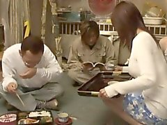 Att blåsa Mitsu Amai offentlig toalett Blow Mitsu Amai offentlig toalett
