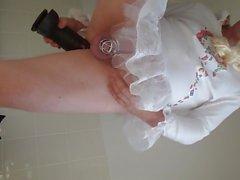 Sissy kristen in einer Barbies Welt klaffende Esel mit 12-Zoll-b