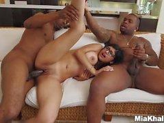 Melhor de sexy cumslut mia khalifa anal boquete facefuck foder a prostituta
