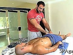 Сексуальное массаж цапфы