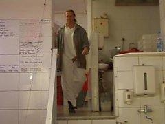 TEEN VAGABUNDA IN Butcher Shop - saf