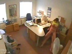 Secrétaire de SE FAIT PRENDRE DANS appareil photo Invisible Bureau de