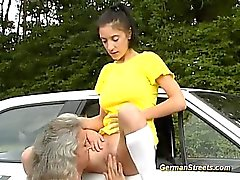 German Doll loves being picked up