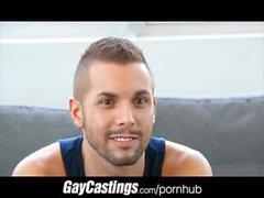 GayCastings Счастливый чирлидера хочет стать в порно