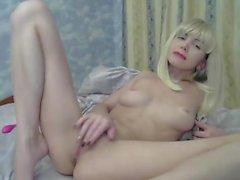 calda blonde a camme -slut