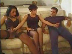 Sheila Trio italien avec une transexuelle
