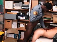 Gay Bear and Black Cop bareback Fuck a Latin Thug