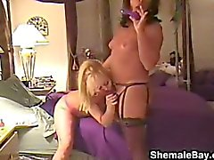 Homemade Video Of A Mature Tranny Fucking