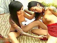 Hot Asian shemale