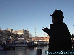 Néerlandais Hooker mangé sur