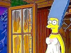 Los simpsons bigote la cabina del amor