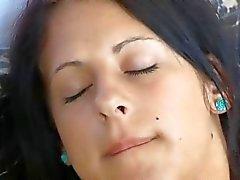 blackhair lesbiennes Vingeren flarden