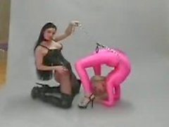 Fetiche lésbica flexível