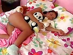 Babe gets fucked in sleep