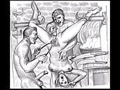 Садо Porn Sketches