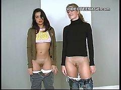 лесбиянка подростки первым отливка телевизоры